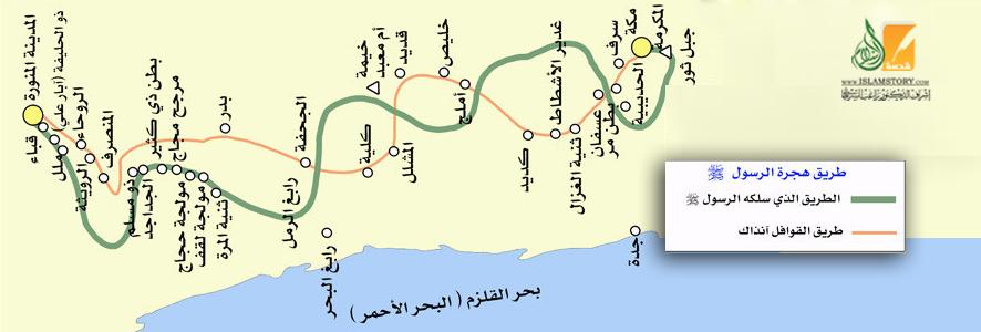 خريطة الهجرة - فلاش متحرك